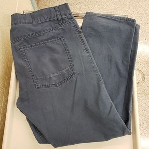 Mossimo Supply Co Slim Straight 36/30 Gray